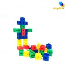 (HL6101) Puzzle Toys Block Building Square